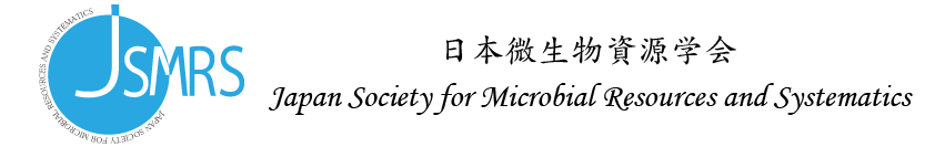 Japan Society for Microbial Resources and Systematics